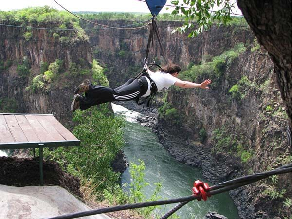 Gorge Swing & Flying Fox